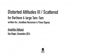 Distorted Attitudes III-Scattered