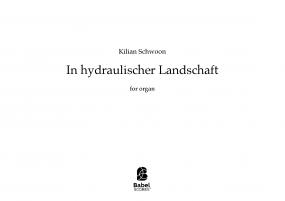 In hydraulischer Landschaft