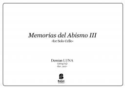 Memorias del Abismo III
