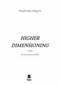 Higher Dimensioning