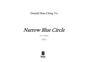 Narrow Blue Circle