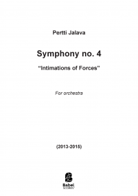 Symphony no 4 - Intimations of Forces