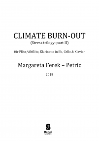 Climate Burn - Out (Stress Trilogy: Part II)