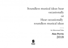Soundless Musical ideas hear occasionally