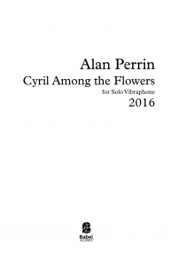 Cyril Among the Flowers