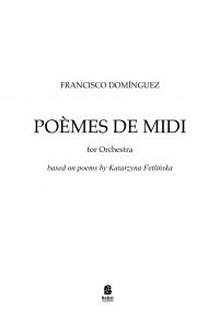 POEMES DE MIDI