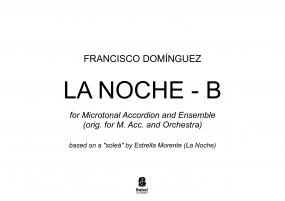 LA NOCHE - B