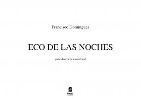 ECO DE LAS NOCHES