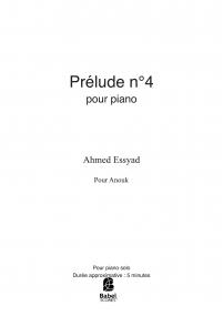 Prélude n°4
