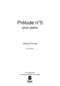 Prélude n°5