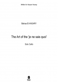 The Art of the 'je ne sais quoi'