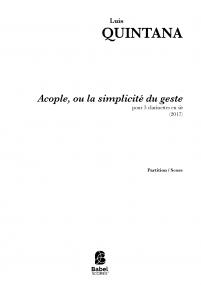 Acople, ou la simplicité du geste