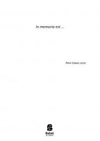 In memorian ets...