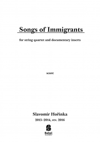 Songs of Immigrants