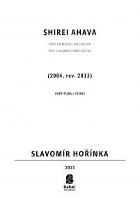 Shirei Ahava