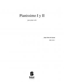 Pianissimo I y II