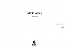 Monólogo V