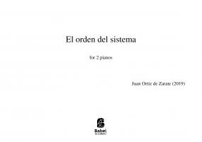 El orden del sistema