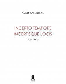 Incerto tempore incertisque locis