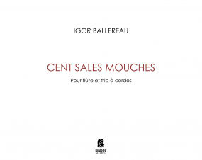 Cent sales mouches