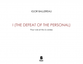 I (the defeat of the personal)