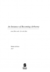 An Instance of Becoming Airborne