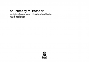 on intimacy V image