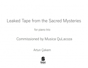 Leaked Tape from the Sacred Mysteries image