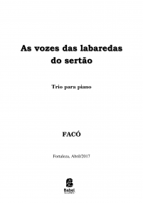 As vozes das labaredas do sertão image