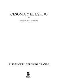 Cesonia y el espejo