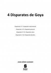 4 Disparates de Goya image