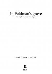 In Feldman's grave