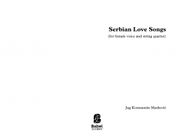 Serbian Love Songs