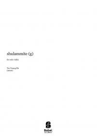 shulammite (g)