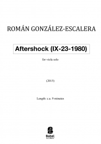 Aftershock (IX-23-1980)