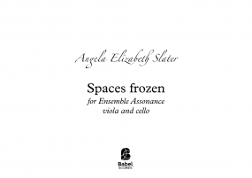 Spaces Frozen