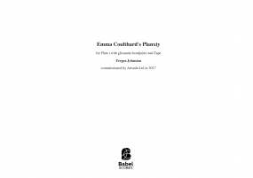 Emma Coulthard's Planxty