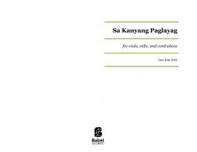 Sa Kanyang Paglayag