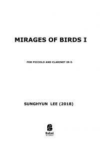 Mirages of Birds I