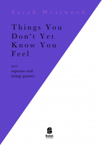 Things You Don't Yet Know You Feel image