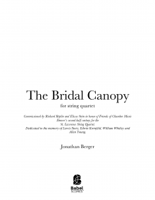 The Bridal Canopy image