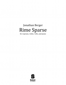 Rime Sparse image