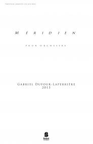 Méridien