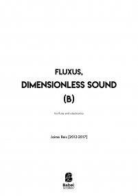 Fluxus, Dimensionless sound (B)