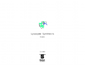Lysozyme Synthesis