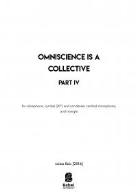 Omniscience is a Collective - Part IV