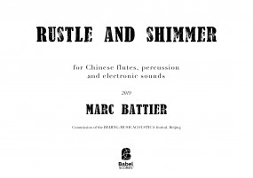 Rustle and Shimmer