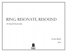Ring, Resonate Resound image