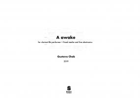 A awake