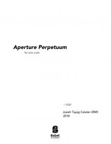 Aperture Perpetuum